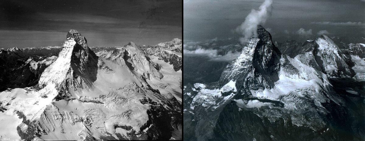 snow-melt-on-matterhorn-mountain-switzerland-august-1960-vs-august-2005