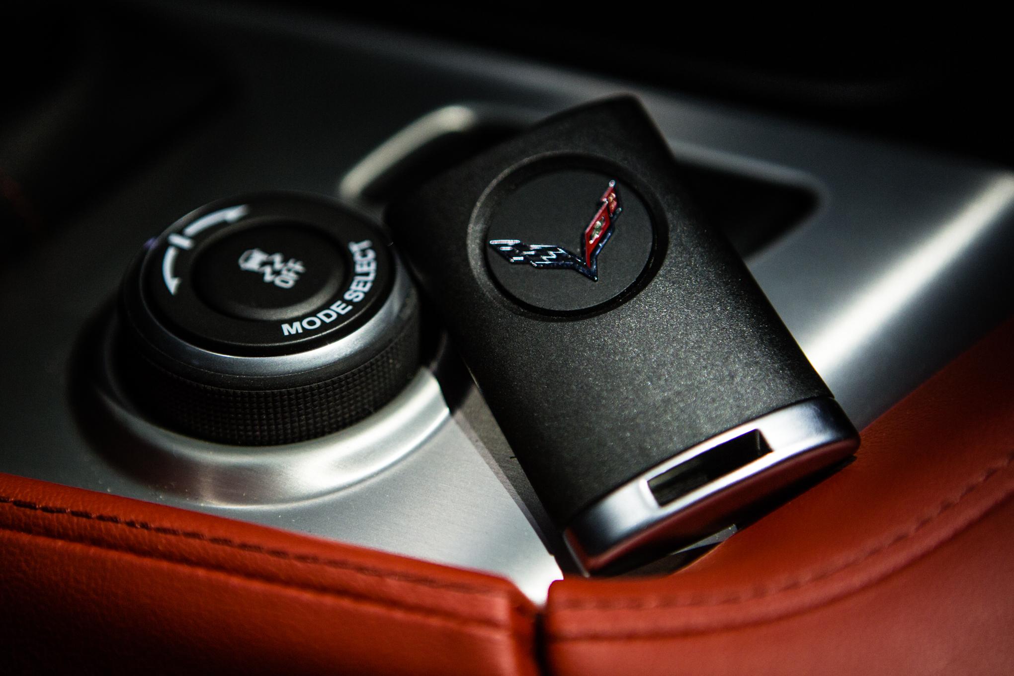 2014 Chevrolet Corvette Stingray Z51 Coupe key fob
