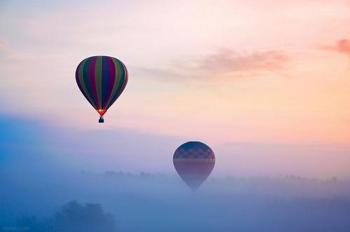 balloon-beautiful-clouds-float-fly-hot-air-balloon-favim-com-45590