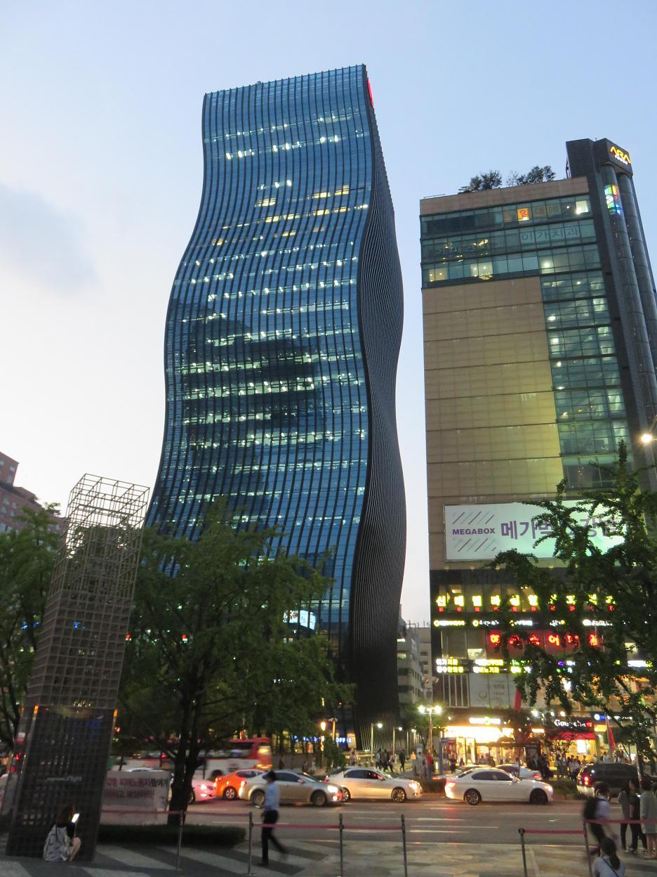 GT TOWER v štvrti Gangnam