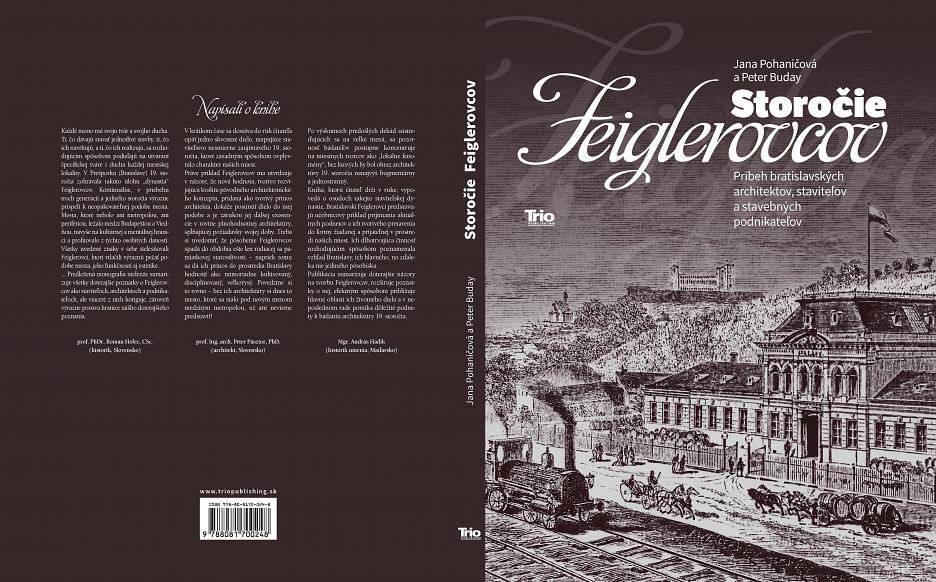 Kniha Storočie Feiglerovcov (Jana Pohaničová, Peter Buday)