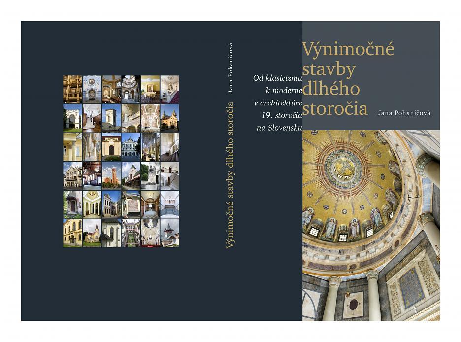 Kniha Výnimočné stavby dlhého storočia (Jana Pohaničová)