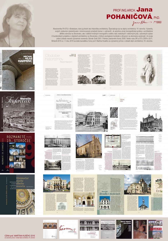 Výber z publikačnej činnosti Jany Pohaničovej