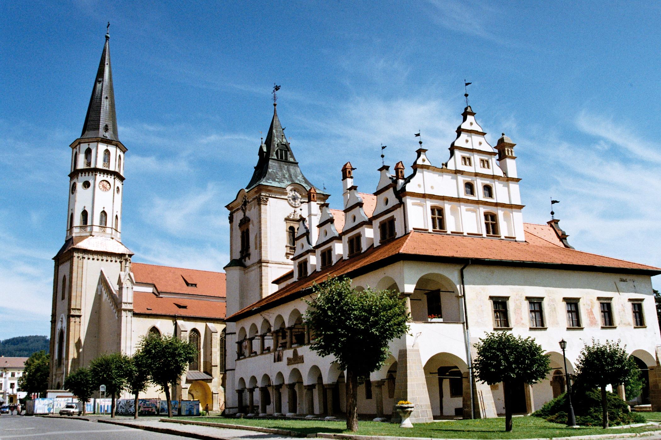 leutschau_-_rathaus_und_dom