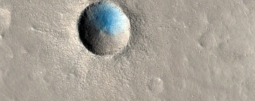 a-small-but-recent-impact-crater
