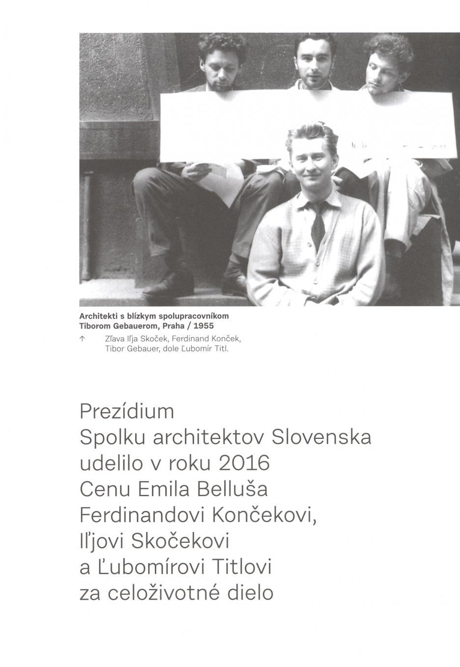 Laureáti ceny Emila Belluša
