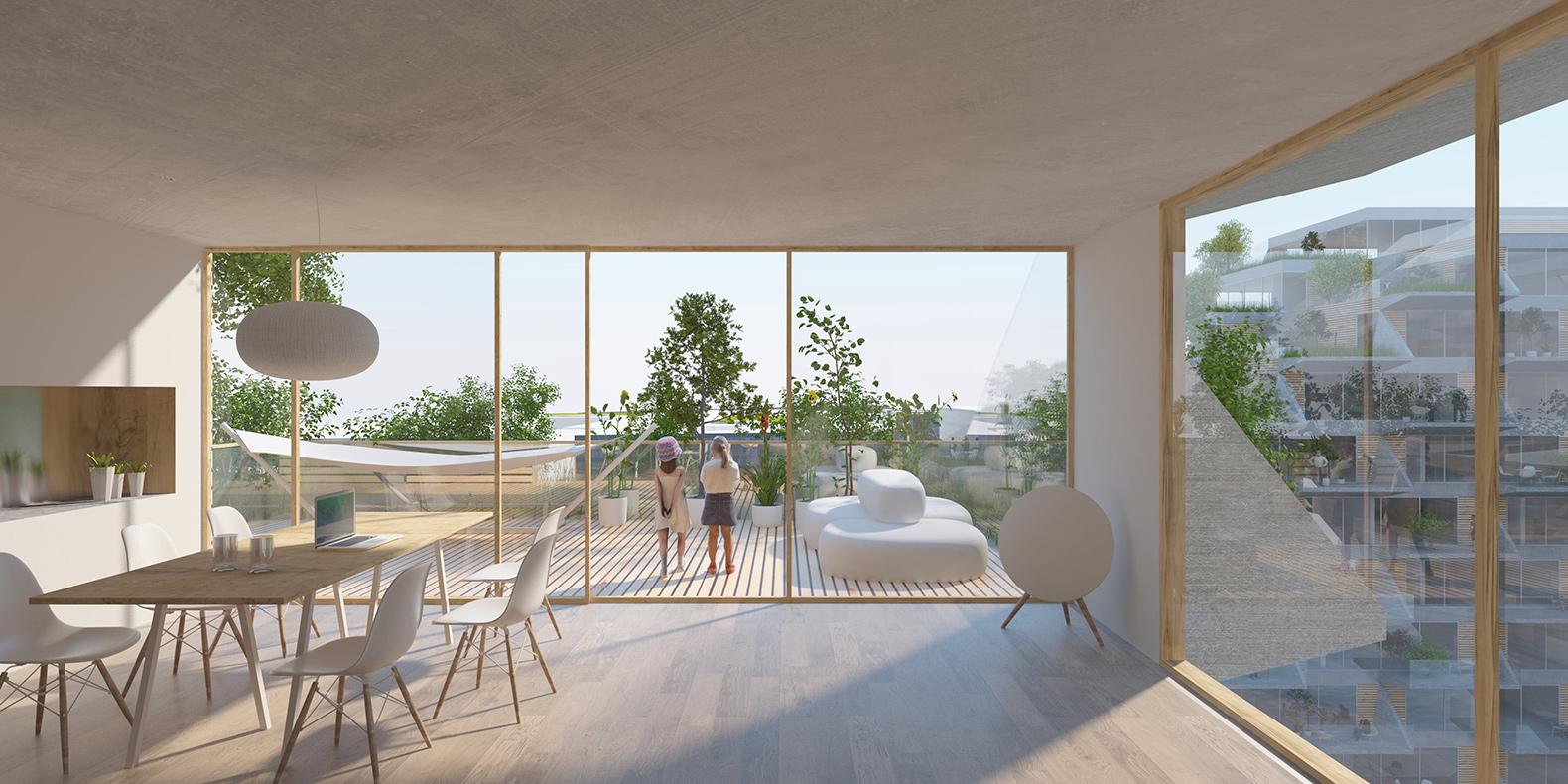 sluishuis-apartment