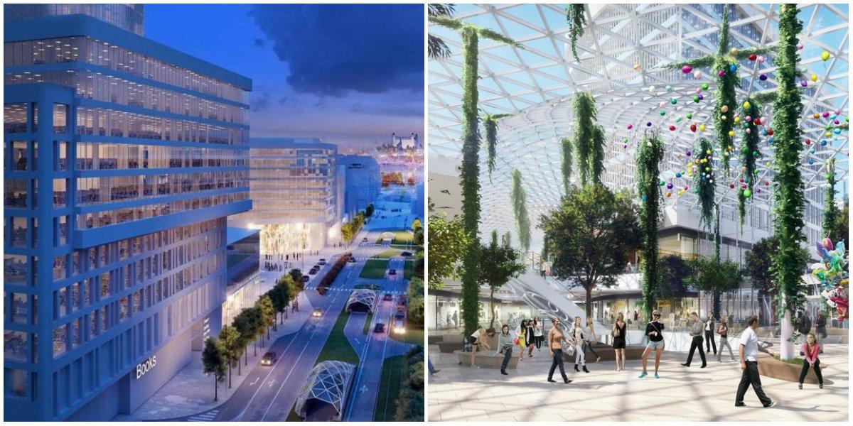 1a32dd3eab Eurovea sa rozširuje! Megaprojekt za 300 miliónov zmení Bratislavu
