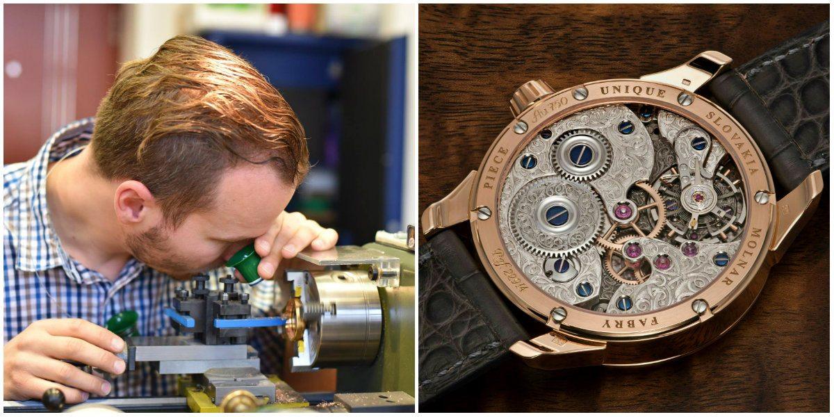 Mladí slovenskí hodinári vyrábajú v Banskej Bystrici exkluzívne kúsky pre  milionárov b837ba3633d