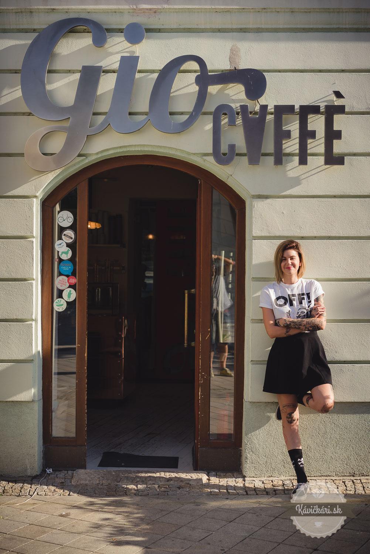 Gio Caffé vstup
