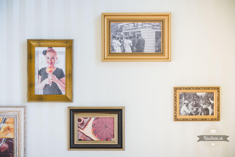 portréty na stene