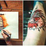 5 slovenských tetovacích štúdií, kde z teba spravia originálne umelecké dielo