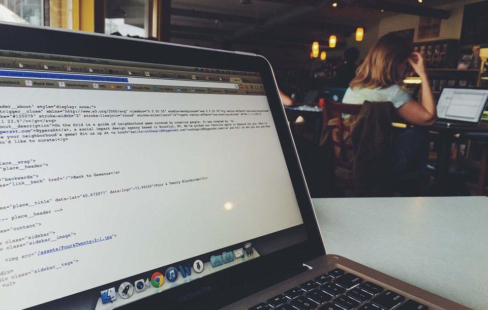 Laptop Programming Macbook Coding Computer