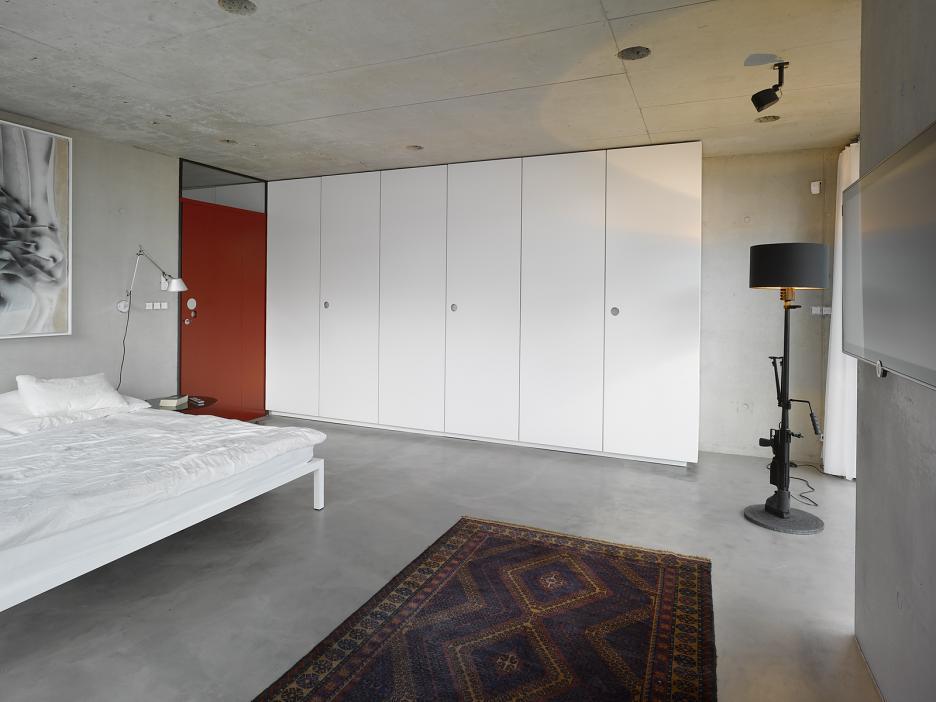 Interiér - spálňa
