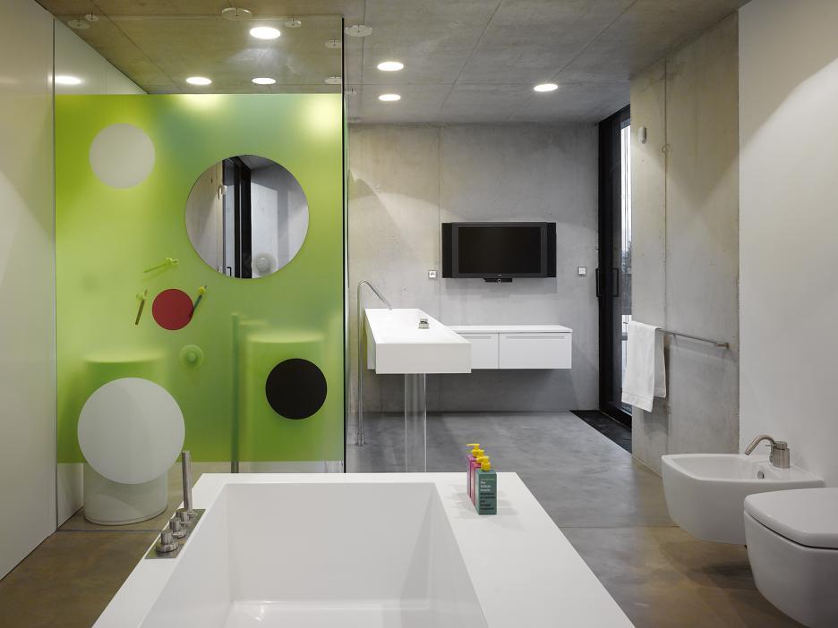 Interiér - kúpeľňa