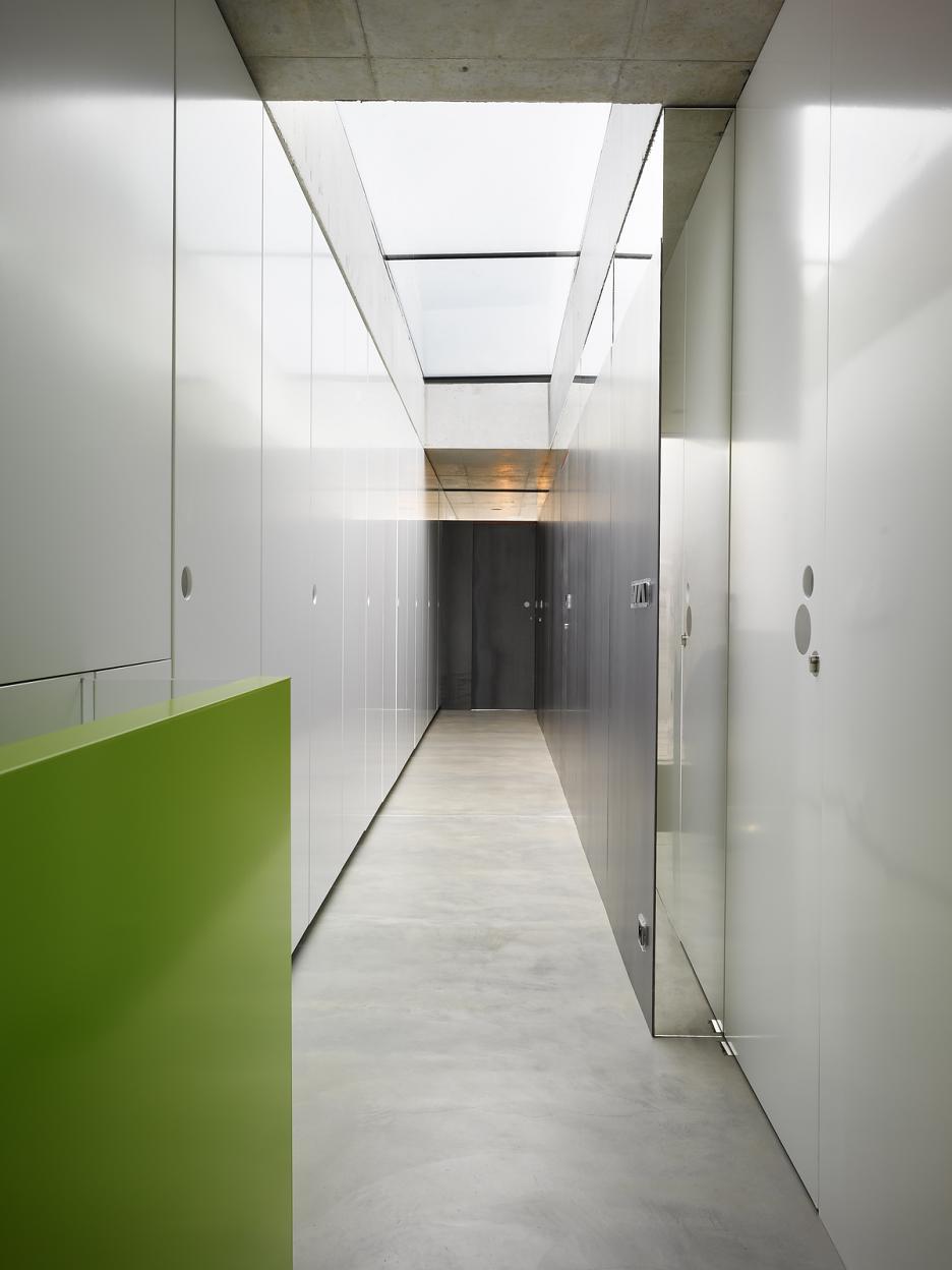Interiér - chodba na poschodí