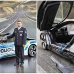 Českej polícii sa po troch týždňoch podarilo rozbiť nové BMWi8