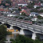 V Trenčíne vyrástol jeden znajmodernejších mostov vEurópe