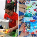 Slovenskí školáci bojujú proti plastom. Vyrobili eko vrecúška zo svadobnej výzdoby