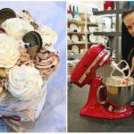 Martina Hankerová sa vzdala práce v advokátskej kancelárii, aby mohla piecť krásne cupcaky v tvare ruží