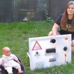 Má len 19 rokov avymyslela vynález, ktorý dokáže zachrániť dieťa zabudnuté vaute