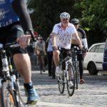 Andrej Kiska dnes prišiel do práce na bicykli