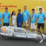 Auto, ktoré prejde 586 kilometrov na jeden liter benzínu, majú na svedomí slovenskí študenti