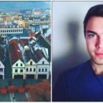 Ukrajinec si zamiloval slovenské mestá. Nakrúca o nich videá, aby ich mohol ukázať celému svetu