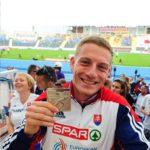 Fantastické, máme zlato! Ján Volko vybojoval pre Slovensko zlatú medailu a vytvoril nový národný rekord