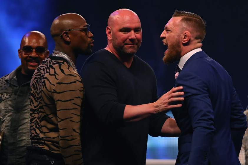 Floyd vs McGregor