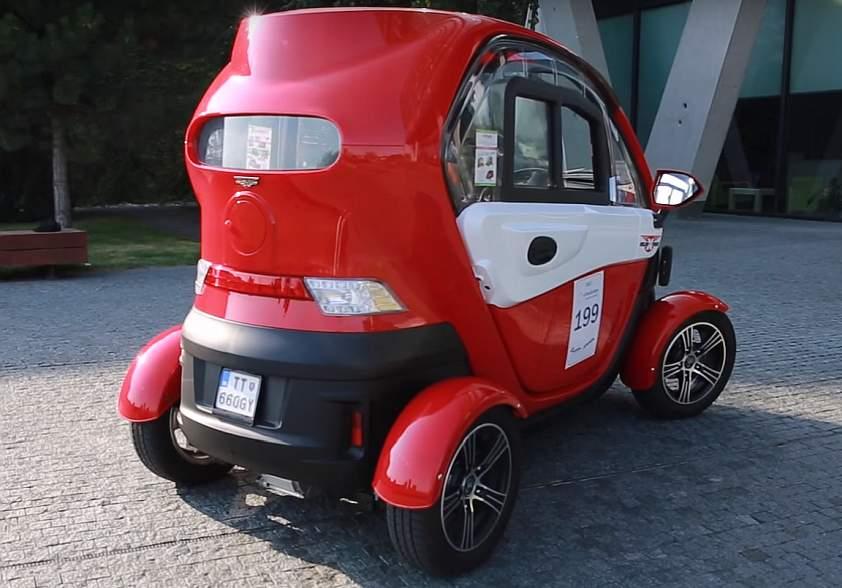 mini elektromobil
