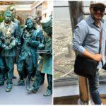 Slovák Radovan Michalov precestoval so svojím unikátnym projektom Big Names celý svet. Jeho živé sochy teraz prichádzajú aj na Slovensko