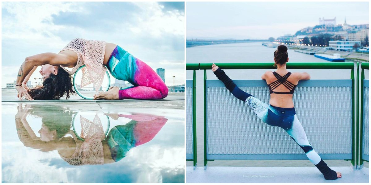 YOGIness: Jarka a Kika spájajú umenie s pohybom v originálnom oblečení na jogu