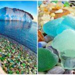 Príroda dokazuje svoju moc. Z fliaš od vodky hodených do mora vytvorila prekrásny úkaz