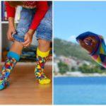 """One Sock: Z nosenia """"každej ponožky inej"""" spravili trend. Nosí ich tak Kiska aj Metelka"""