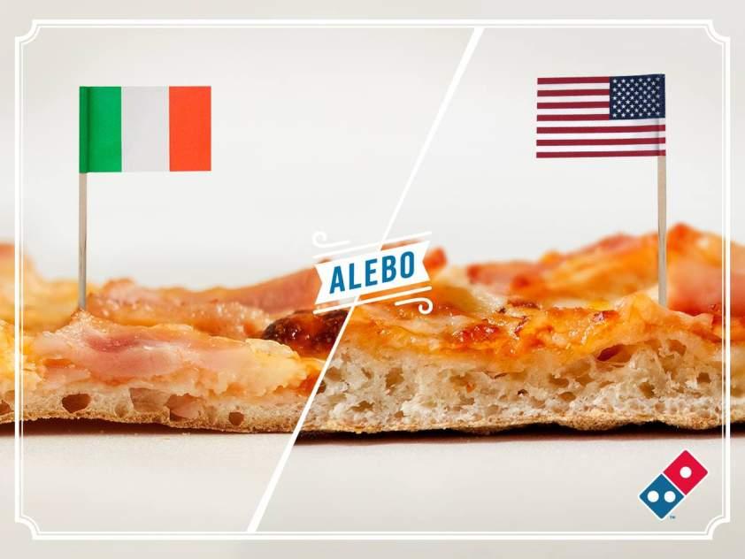 talianská pizza
