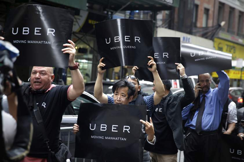 uber londýn