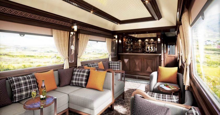luxusné vlaky