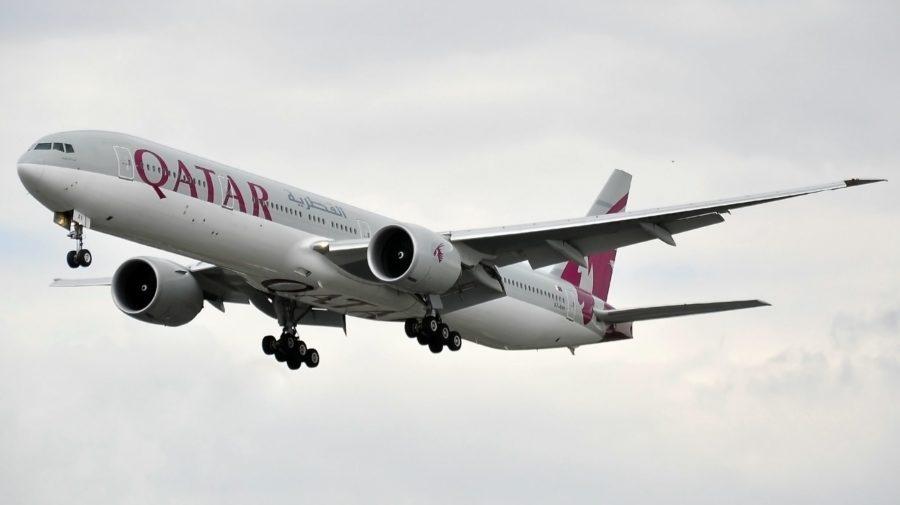 Boeing 777-3DZ(ER) - Qatar Airways (A7-BAI)