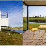 Víkendový dom s výhľadom na green: Existuje ešte väčší minimalizmus?