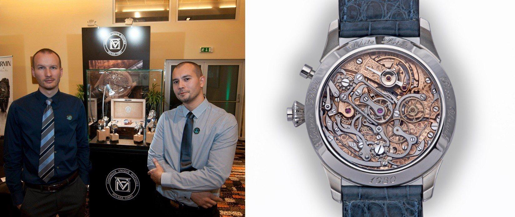 Michal a Igor začali sami vyrábať hodinky 59a40058251