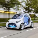 Maličký koncept Smart Vision EQ je malý, elektrický a slušnejší ako veľa taxikárov