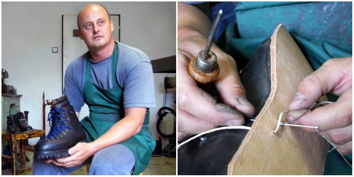 c004b5137026 Slovák ručne vyrába topánky na mieru