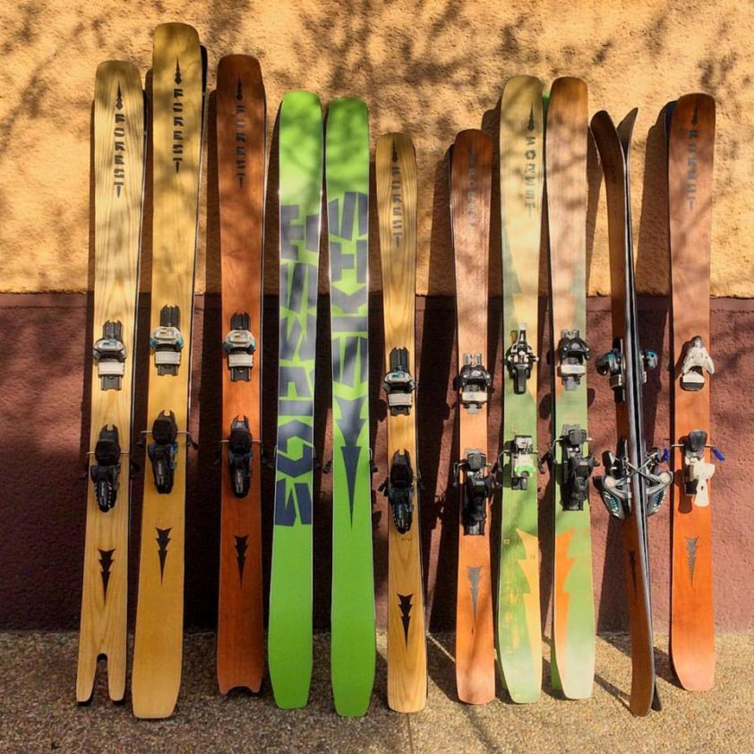 lyže forest skis