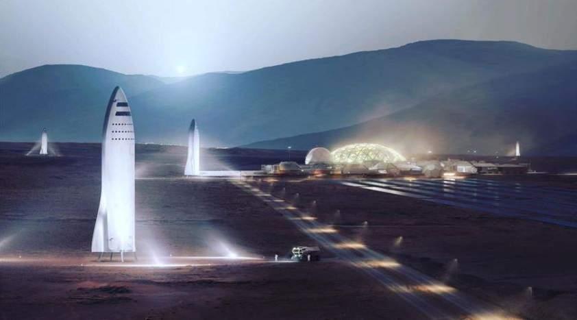 rakety spacex