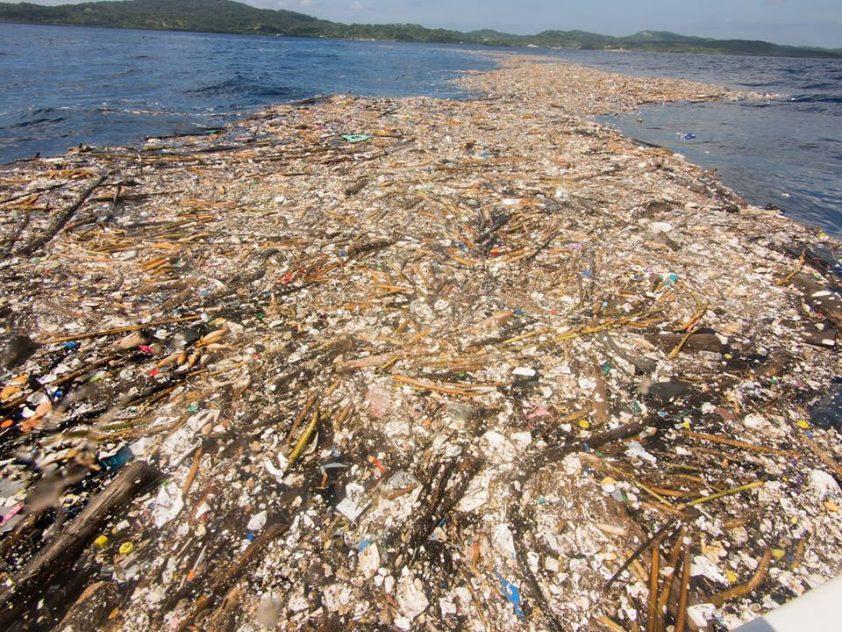 znečistené more