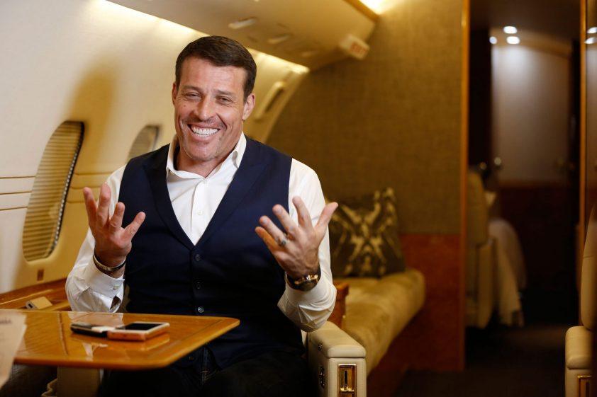 Tonyho súkromné lietadlo