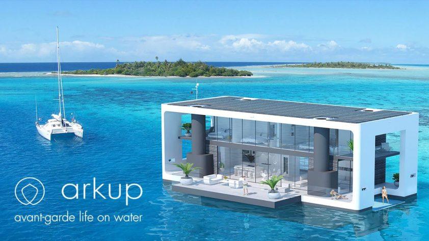 plávajúce domy arkup