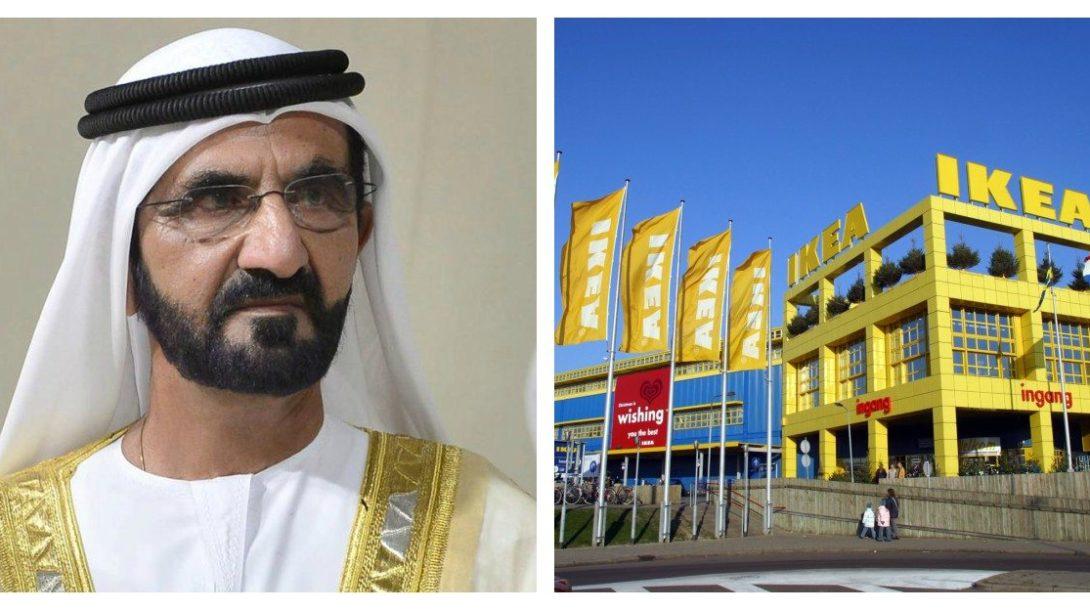 Ikea a vládca Dubaja