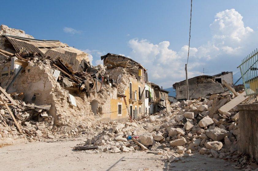 škody po zemetrasení